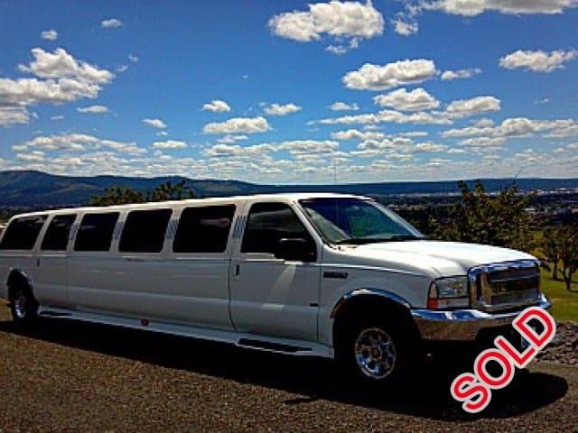 Used 2004 Ford Excursion SUV Stretch Limo Executive Coach Builders - Spokane, Washington - $31,500