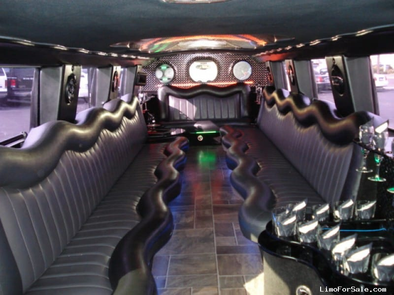 Used 2005 Hummer H2 Suv Stretch Limo California Coach