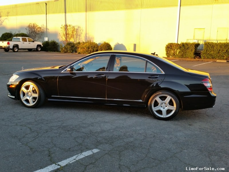 used 2008 mercedes benz s550 sedan limo napa california