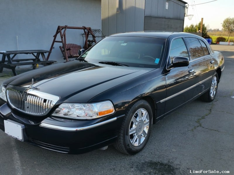 used 2008 lincoln town car l sedan limo napa california. Black Bedroom Furniture Sets. Home Design Ideas