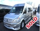 2009, Mercedes-Benz Sprinter, Mini Bus Limo, Midwest Automotive Designs