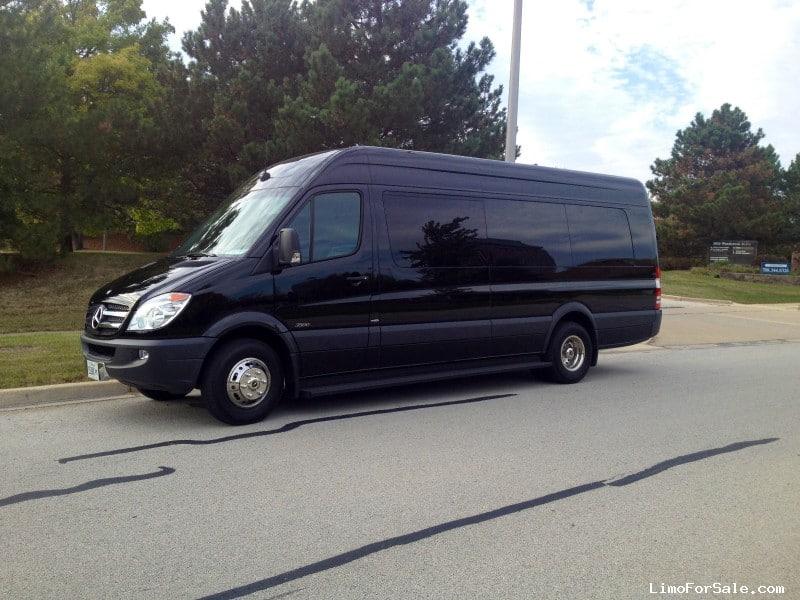 Used 2013 mercedes benz sprinter van shuttle tour first for Mercedes benz shuttle