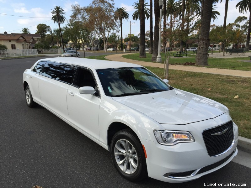 New 2015 Chrysler 300 Sedan Stretch Limo American Limousine Sales