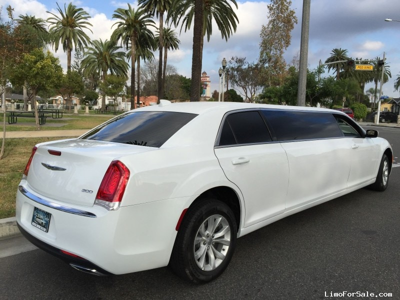 New 2015 Chrysler 300 Sedan Stretch Limo American Limousine Sales