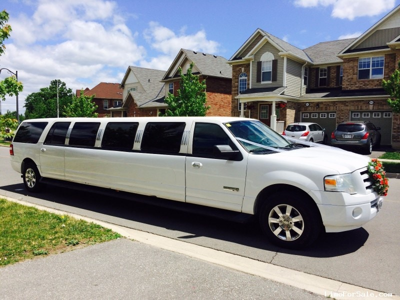 Used 2007 Ford Expedition Suv Stretch Limo Executive Coach