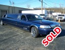 2007, Lincoln Town Car, Sedan Stretch Limo, Springfield