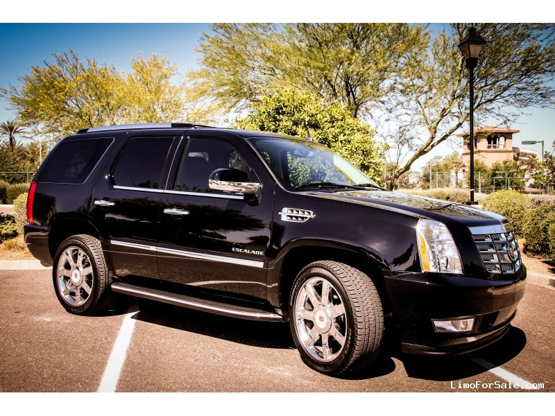 used 2014 cadillac escalade suv limo chandler arizona 51 500 limo for sale. Black Bedroom Furniture Sets. Home Design Ideas