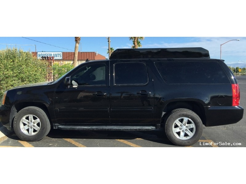 used 2014 gmc yukon xl suv limo specialty conversions las vegas nevada 44 999 limo for sale. Black Bedroom Furniture Sets. Home Design Ideas