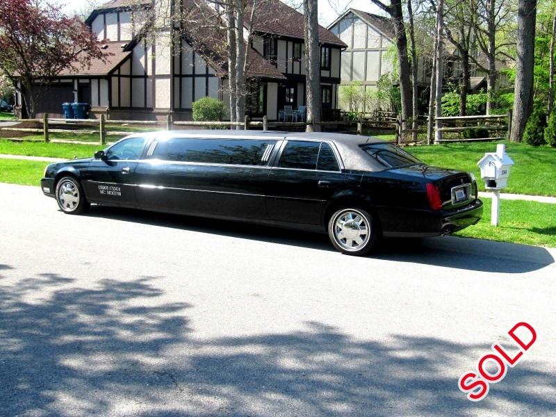 Used 2001 Cadillac De Ville Sedan Stretch Limo Krystal Toledo