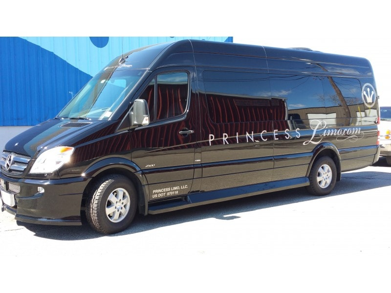 Used 2010 mercedes benz sprinter van limo fall river for Mercedes benz limo for sale