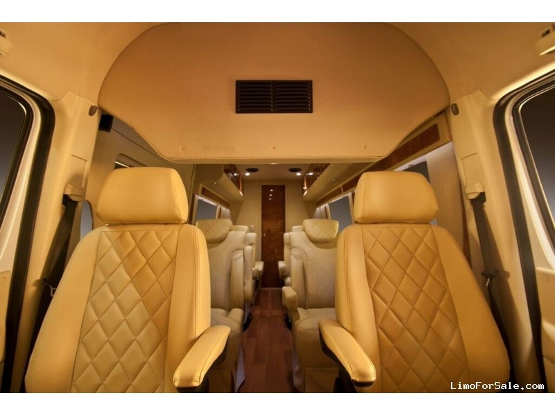 New 2016 Mercedes-Benz Sprinter Van Limo Battisti Customs - Saint Louis, Missouri - $136,995