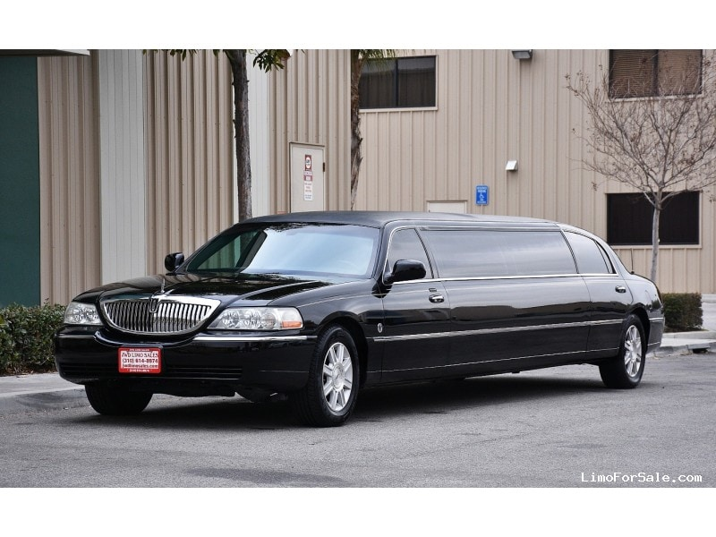 used 2007 lincoln town car sedan stretch limo federal fontana california 19 900 limo for. Black Bedroom Furniture Sets. Home Design Ideas