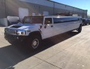 2004, Hummer H2, SUV Stretch Limo, Lime Lite Coach Works