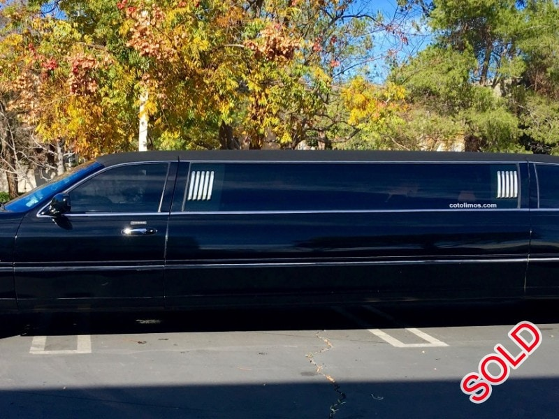 used 2008 lincoln town car sedan stretch limo krystal rancho santa margarita california. Black Bedroom Furniture Sets. Home Design Ideas