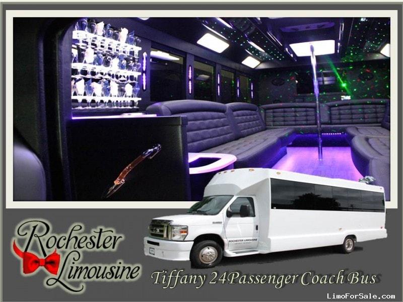New 2011 Ford E-450 Mini Bus Limo Tiffany Coachworks - Rochester Hills, Michigan - $65,895