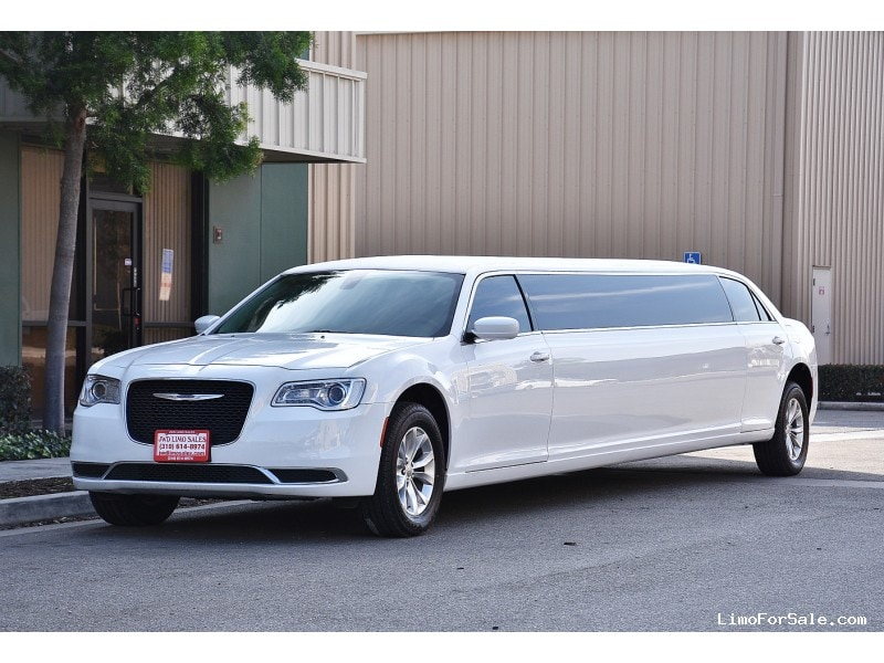 Used 2015 Chrysler 300 Sedan Stretch Limo  - Fontana, California - $55,900