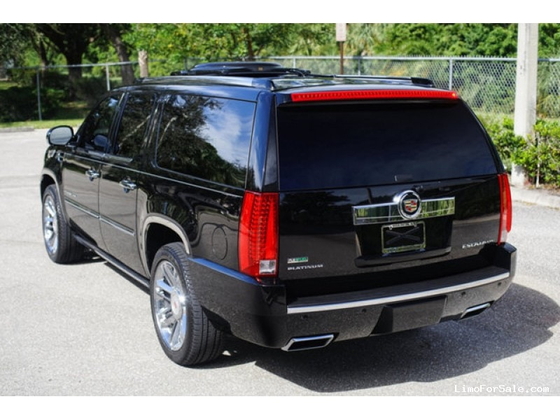 used 2012 cadillac escalade esv suv limo specialty vehicle. Black Bedroom Furniture Sets. Home Design Ideas