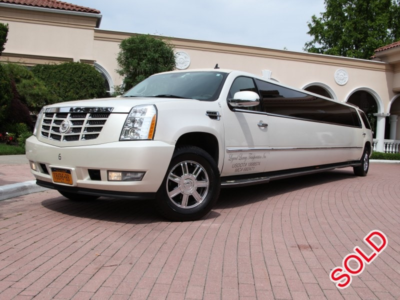 Used 2008 Cadillac Escalade SUV Stretch Limo Limos by Moonlight - Smithtown, New York    - $31,500