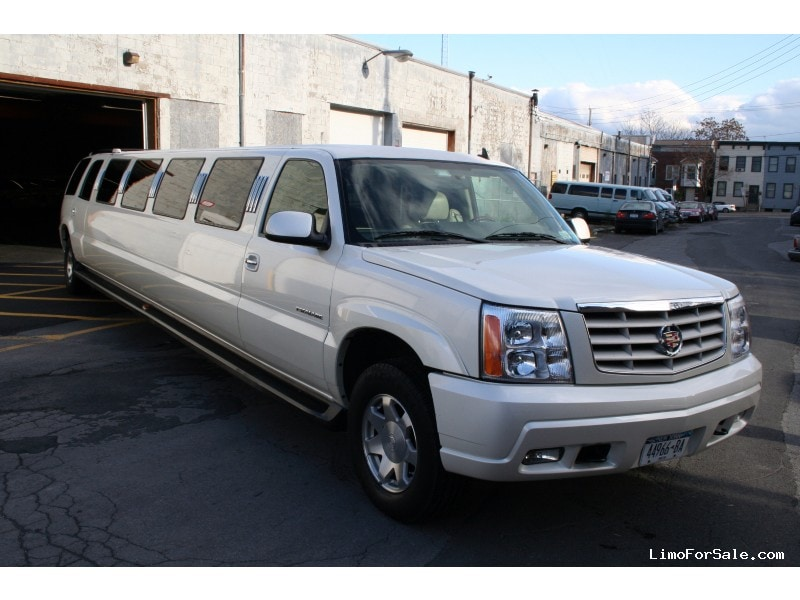 Used Cadillac Escalade Suv Stretch Limo Empire Coach Albany