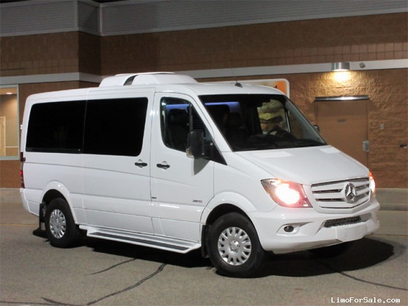 Used 2016 mercedes benz sprinter van limo accubuilt for Used mercedes benz minivan for sale