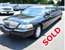 2009, Lincoln Town Car, Sedan Stretch Limo, Executive Coach Builders