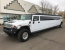 2007, Hummer H2, SUV Stretch Limo, Lime Lite Coach Works