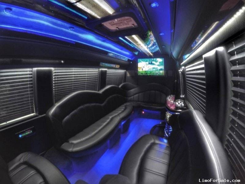 Used MercedesBenz Sprinter Van Limo Executive Coach Builders - Mercedes benz limo bus