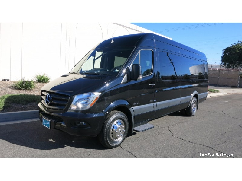 new 2016 mercedes benz sprinter van shuttle tour