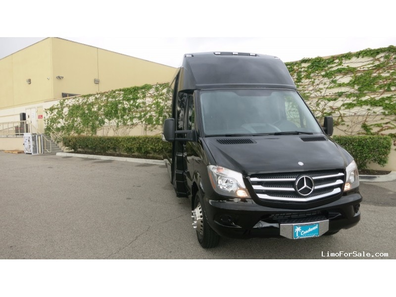new 2015 mercedes benz sprinter van shuttle tour