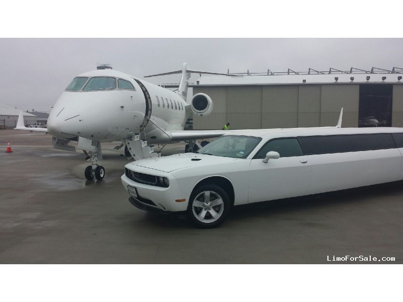 Used 2012 Dodge Challenger Sedan Stretch Limo American Limousine Sales - houston, Texas - $49,900