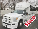 2011, Ford F-550, Mini Bus Shuttle / Tour, Tiffany Coachworks