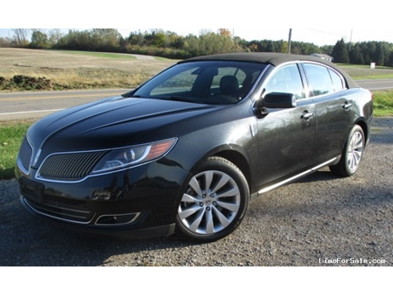 Used 2014 Lincoln MKS Sedan Limo  - Bellefontaine, Ohio - $14,400