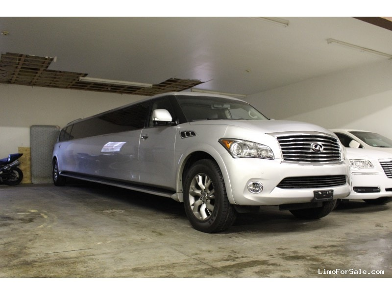 Used 2011 Infiniti QX56 SUV Stretch Limo Pinnacle Limousine Manufacturing - Westport, Massachusetts - $63,000