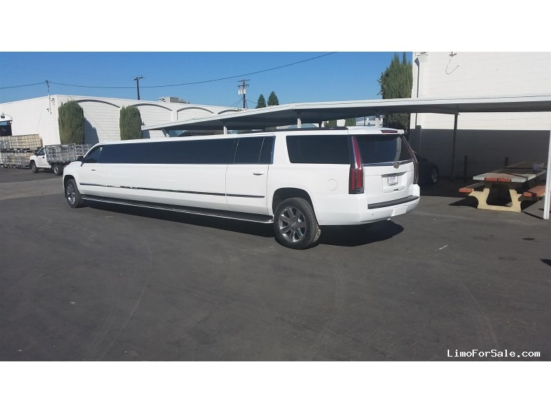 New 2018 Cadillac Escalade Esv Suv Stretch Limo Pinnacle