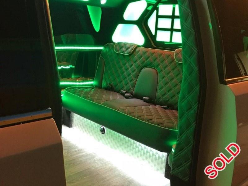 Used 2017 Cadillac SUV Stretch Limo Classic Custom Coach - corona, California - $89,000