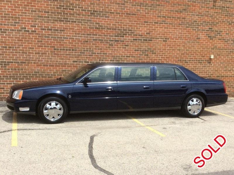 Used 2004 Cadillac Funeral Limo Federal - Palatine, Illinois - $7,995