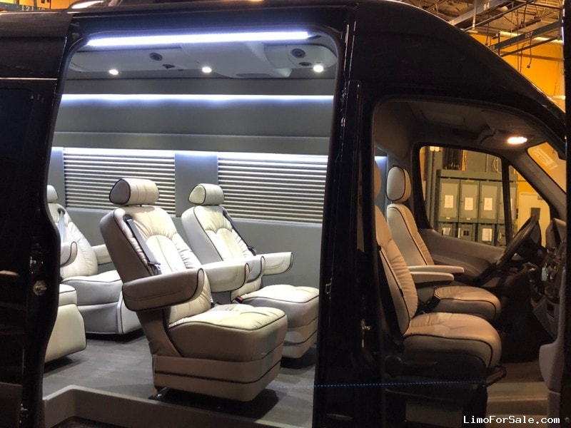 Used 2016 Mercedes-Benz Van Limo Midwest Automotive Designs - $87,600