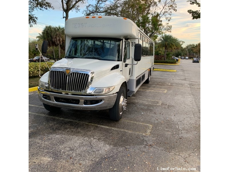 Used 2012 International 3400 Mini Bus Shuttle / Tour Champion - Davie, Florida - $19,000