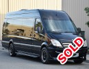 2013, Mercedes-Benz Sprinter, Van Limo, Midway Specialty Vehicles