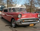 1957, Chevrolet Bel-Air, Sedan Stretch Limo, American Custom Coach