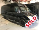 2012, Mercedes-Benz Sprinter, Van Limo, Battisti Customs