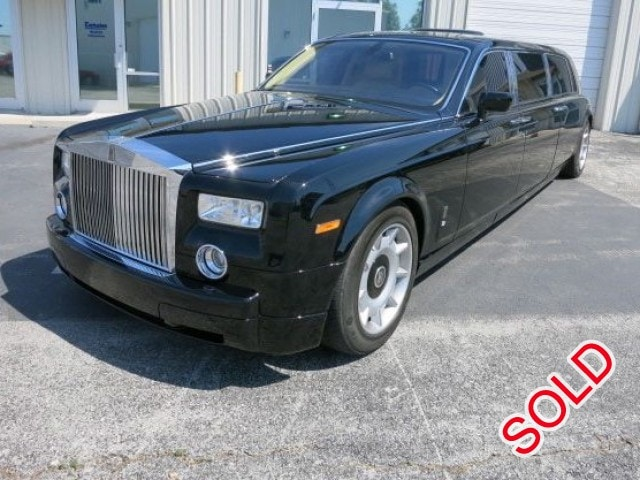 used 2004 rolls royce phantom sedan stretch limo seminole florida 228 000 limo for sale. Black Bedroom Furniture Sets. Home Design Ideas