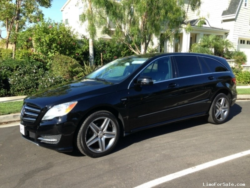 Used 2012 mercedes benz r350 sedan limo los angeles for Used mercedes benz r350 for sale