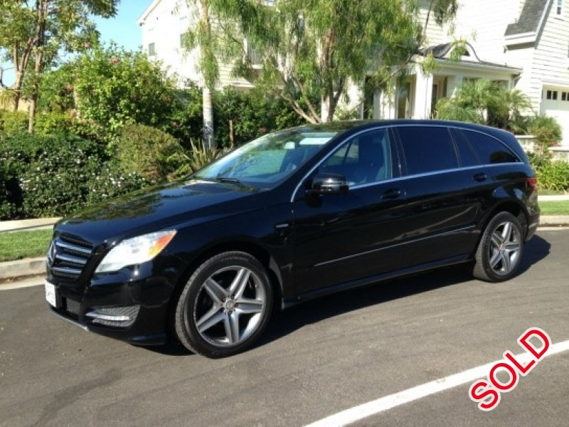 Used 2012 mercedes benz r350 sedan limo los angeles for Mercedes benz r350 for sale