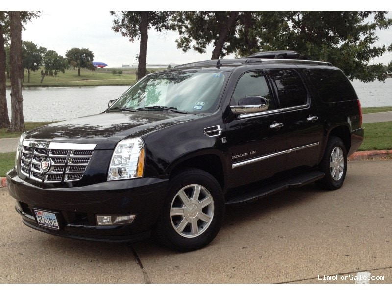 used 2012 cadillac escalade esv suv limo lcw dallas. Black Bedroom Furniture Sets. Home Design Ideas