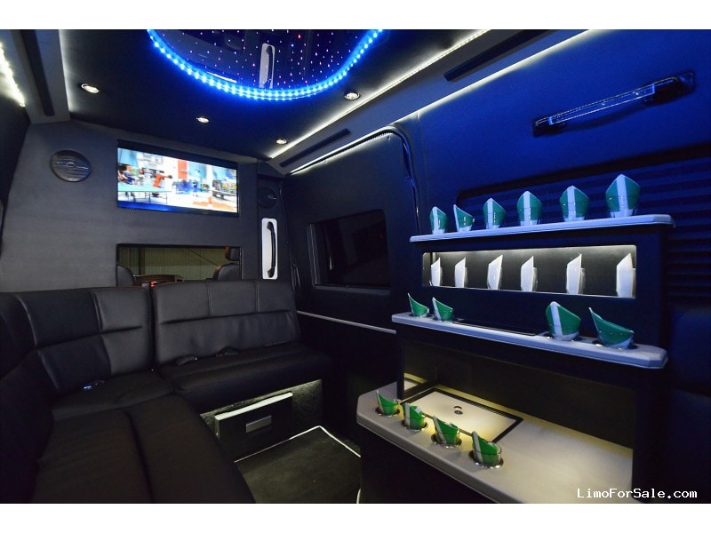 Used 2010 mercedes benz sprinter van limo fontana for Mercedes benz fontana ca