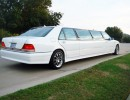 1996, Mercedes-Benz S Class, Sedan Stretch Limo