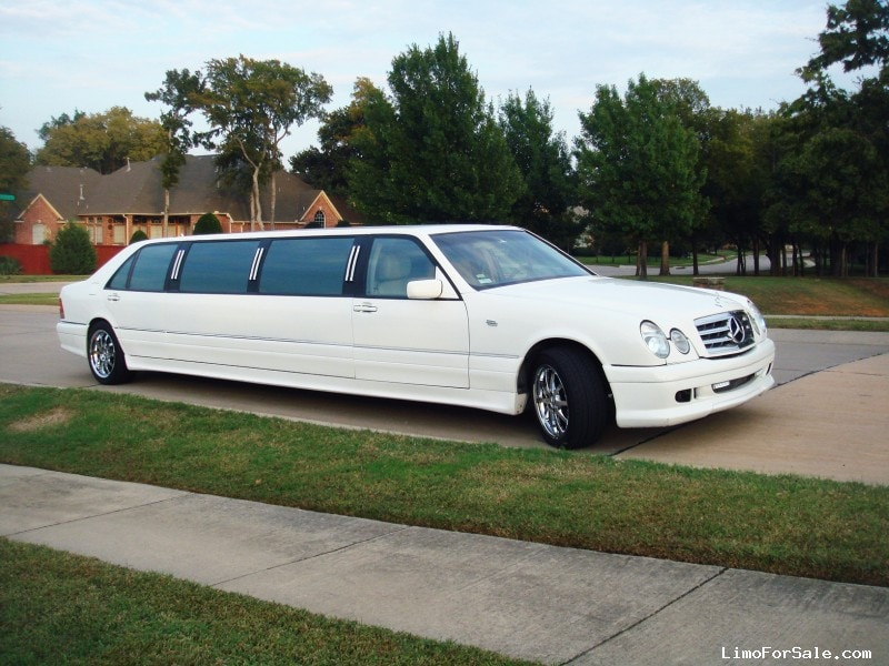 used 1996 mercedes benz s class sedan stretch limo colleyville texas 24 000 limo for sale. Black Bedroom Furniture Sets. Home Design Ideas