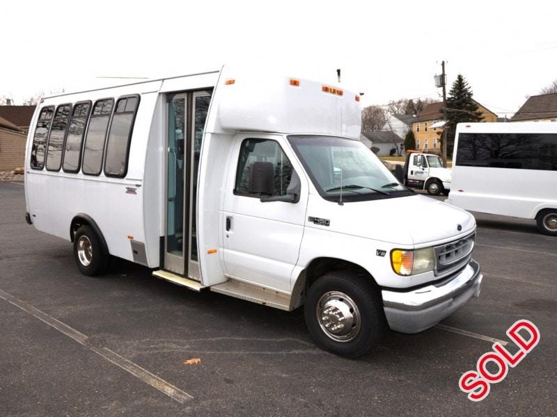 Used 2002 Ford E-450 Mini Bus Shuttle / Tour Thomas ...
