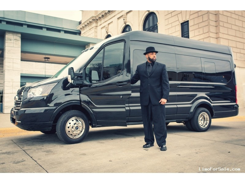 My Ford Touch Screen Is Black >> Used 2015 Ford Transit Van Limo Detroit Custom Coach - Oak ...